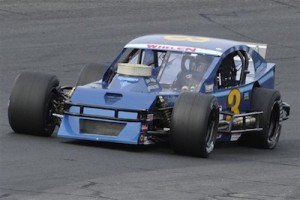 The Boehler Racing Enterprises Ole Blue on the Whelen Modified Tour (Photo: NASCAR)
