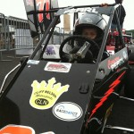 Cameron Pearl Wild Thing Karts at Stafford Motor Speedway
