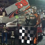 Todd Bertrand Wins NEMA Feature At Waterford; Joey Mucciaciarro Takes Legends Win