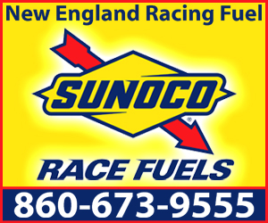 New England Racing Fuel Ad Blue Block