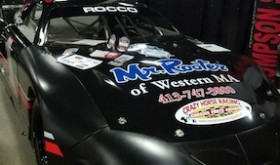The Scott Fearn owned Late Model that Keith Rocco drove to a championship in 2013 at the Waterford Speedbowl