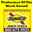 Racing Fuel Performer Of The Week Award Logo