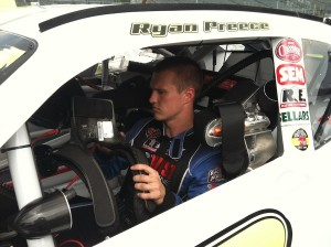 Ryan Preece in his Tommy Baldwin Racing Nationwide Series entry last year.