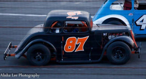 Joey Ferrigno racing his Legend car (Photo: Alisha Lee Photography)