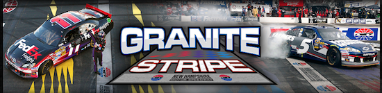 The Granite Stripe Header
