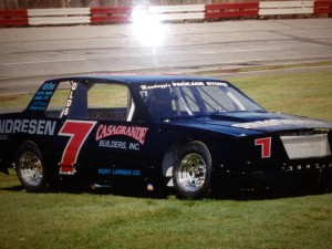 The first Casagrande Motorsports Late Model at Stafford Motor Speedway