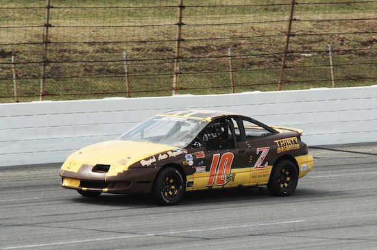 Mitch Bombard competes in the Vores Compact Touring Series event at Lucas Oil Raceway Park in Indianapolis on April 6, 2014 (Photo: RW Motorsports Marketing)