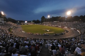 Bowman Gray Stadium in Winston-Salem, N.C. (Photo: Grant Halverson/NASCAR)