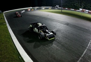 Racing to victory in Whelen Modified Tour action at Monadnock Speedway in 2013 (Photo: Alex Trautwig/Getty Images for NASCAR)