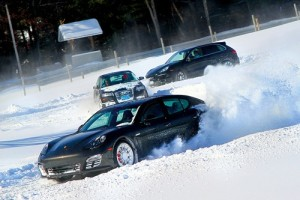 Winter Autocross action at Lime Rock Park (Photo: Lime Rock Park)