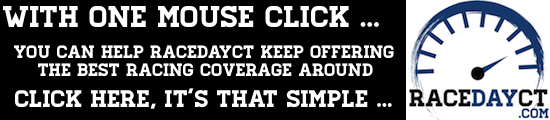RaceDayCT One Mouse Click Ad