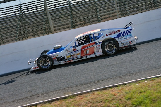 Ryan Preece competing at Caraway Speedway (Photo: Brenda Meserve/Image81)