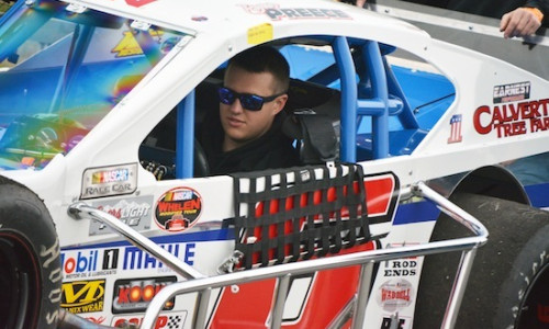 Ryan Preece in the Ed Partridge owned TS Haulers Motorsports Whelen Modified Tour ride (Photo: Brenda Meserve/Image81)