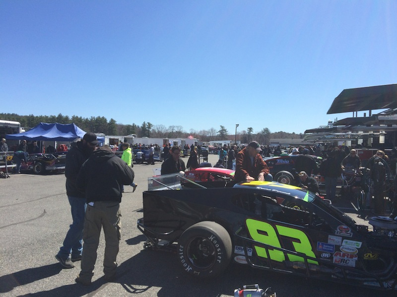 Picture this stafford speedway comes to life for napa for Stafford motor speedway schedule