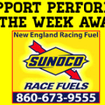 Zack Robinson Wins New England Racing Fuel Support Performer Of The Week Award