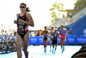 Olympic Triathlete Sarah True will drive the pace car to start the Sylvania 300 Sunday at New Hampshire Motor Speedway (Photo: Courtesy New Hampshire Motor Speedway)