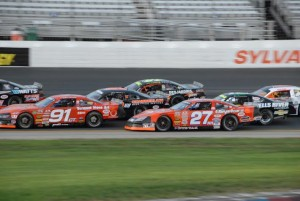 The American-Canadian Tour in action at New Hampshire Motor Speedway (Photo: Steve Poulin Courtesy American-Canadian Tour)