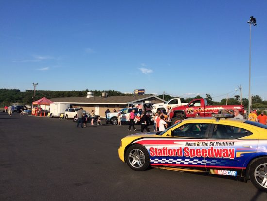 The WEEI Fan Fest Thursday at Stafford Motor Speedway