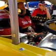 Jimmy Blewett readies for the start of Whelen Modified Tour practice in July at New Hampshire Motor Speedway