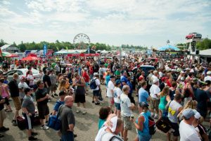 The Fan Zone at New Hampshire Motor Speedway (Photo: Courtesy New Hampshire Motor Speedway)