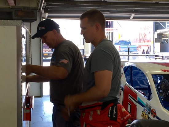 Jeff Preece (left) and Ryan Preece