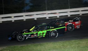 Jay Goff in action at Stafford Motor Speedway (Photo: Stafford Speedway/Driscoll MotorSports Photography)