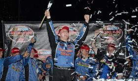 Timmy Solomito won earlier this year in the Whelen Modified Tour's first visit to Riverhead Raceway (Photo: Fran Lawlor for NASCAR)