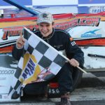 Bert Ouellette Looking For Mr. Rooter Truck Series Stafford Speedway Sweep