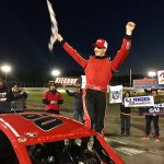 "Cash Machine: ""Money"" Matt Hirschman Scores Tri-Track Open Modifed Series Win At Waterford"