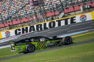 Ryan Preece in his Whelen Southern Modified Tour ride Thursday at Charlotte Motor Speedway (Photo: Brenda Meserve)
