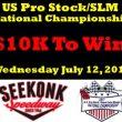 David Darling Wins Prostock/Super Late Model National Championship Qualifier At Seekonk
