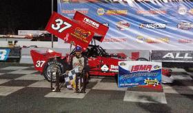 Dominator: Ben Seitz Wins ISMA SuperModified Feature At Stafford Speedway