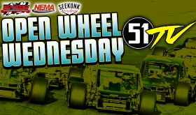Pay-Per-View Video Stream Announced for Seekonk Speedway's Open Wheel Wednesday