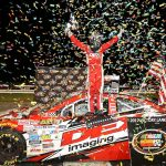 Old School New Name: Harrison Burton Wins K&N East Busch North Throwback At Thompson Speedway