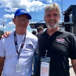 Greetings: Bob Potter Grabs Audience With Dale Earnhardt Jr. At NHMS
