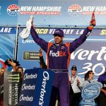 Clawing Back: Denny Hamlin Wins Monster Energy Cup Overton's 301 At NHMS
