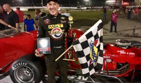 Fueled Domination: Ted Christopher Leads Every Lap To Win Valenti Modified Series 100 At Speedbowl