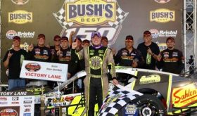 Breakthrough: Patrick Emerling Gets First Whelen Mod Tour Win At Bristol Motor Speedway