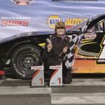 Alexandra Fearn Wins R.A.D. Automachine Limited Late Model Rookie Title At Stafford