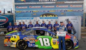 Kyle Busch Wins Pole For Monster Energy Cup ISM Connect 300 At NHMS