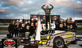 Dynasty: Doug Coby Captures Fifth Whelen Mod Tour Title At Thompson World Series 150