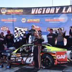 Long Time Comin': Eric Goodale Gets First Stafford Win In Whelen Mod Tour NAPA Fall Final 150