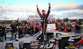 Backing It Up: Timmy Solomito Wins Whelen Mod Tour Sunoco World Series 150 Win At Thompson