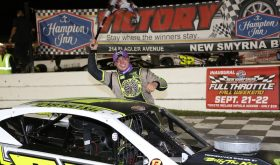 Momentum Runner: Patrick Emerling Wins Tour Type Modified Feature At New Smyrna Speedway