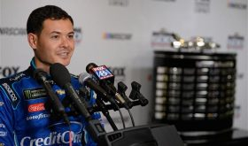 Kyle Larson Embraces Role As Monster Energy Cup Series Frontrunner