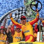 Joey Logano Hangs On Tough For Hard Fought Talladega Monster Energy Cup Win