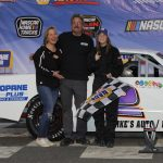 In The Genes: Meghan Fuller Gets First Career Street Stock Victory At Stafford Speedway