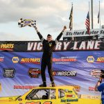 Team Effort Puts Brandon Michael In Street Stock Victory Lane At Stafford