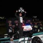 Pointing, In The Right Direction: Justin Bonsignore Wins Whelen Modified Tour Seekonk 150