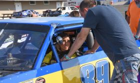 Samantha Anderson Goes From Pageant Stage To Speedbowl For SK Light Mod Debut